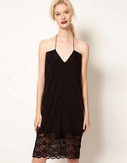 BACK by Ann-Sofie Back Lace Nightie Dress