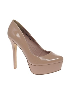 Image 1 of ASOS PIPPA Platform Court Shoes