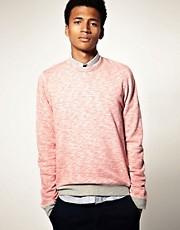 ASOS Twisted Yarn Marl Sweatshirt
