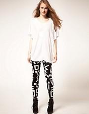 ASOS Mono Knitted Leggings