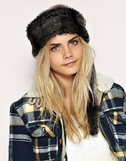 ASOS Raccoon Tail Fantasy Fur Head Band
