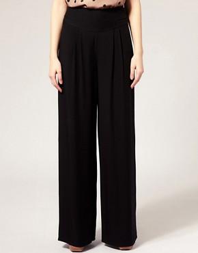 Image 4 of Oasis High Waist Peg Pants