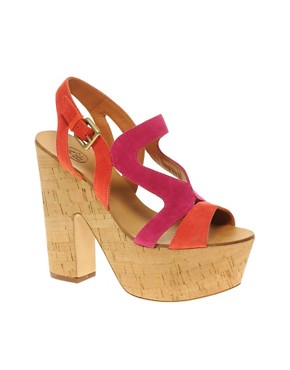 Image 1 ofAsh Hysteria Colour Block Wedges