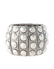 Lipsy Metal Stud Stretch Bracelet