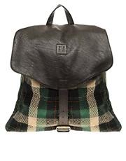 ASOS Plaid Backpack