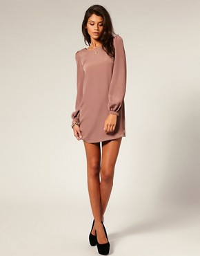 Image 4 of ASOS Bell Sleeve Shift Dress