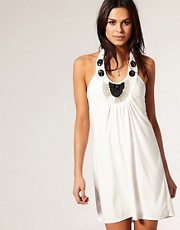 Club L Embellished Halterneck Dress by ASOS