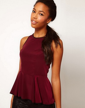 Image 1 of River Island Soft Peplum Top