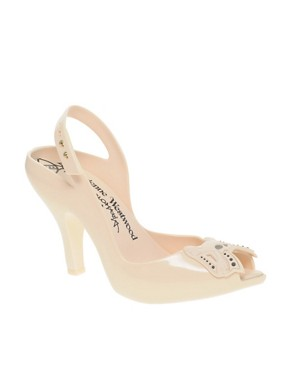Image 1 of Vivienne Westwood Anglomania For Melissa Lady Dragon Skull Heeled Sandals