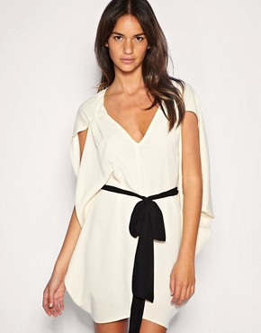 Image 1 of ASOS Belted Kimono Dress