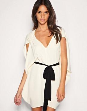 Image 1 ofASOS Belted Kimono Dress
