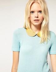 Gemma Lister Gold Leather Collar