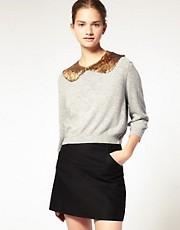 ASOS Premium Sequin Collar