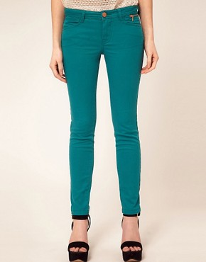 Image 1 of River Island Jade Colored Jean