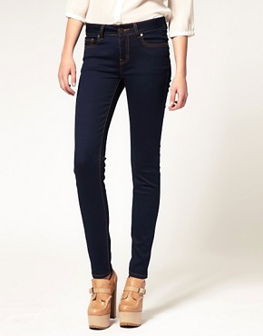 Image 1 of A|Wear Clean Super Stretch Skinny Jeans