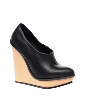 Image 1 of ALDO Bacher pointed wedge shoeboot