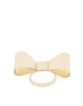 Image 1 ofASOS Bow Ring