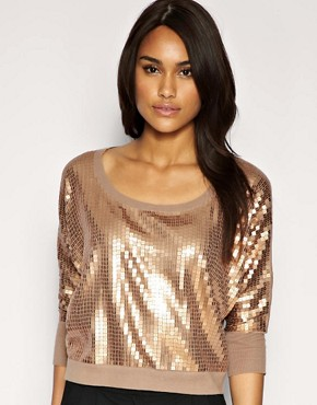 Image 1 of ASOS Sequin Sweater