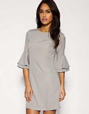 Image 1 of ASOS Layered Sleeve Shift Dress