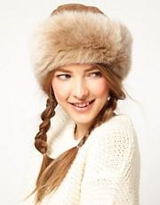 Blanche in the Brambles Sheepskin Hat