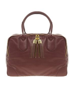 Image 1 ofASOS Tassel Bowler Bag