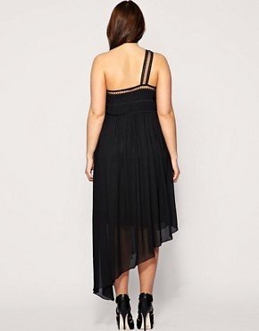 Image 2 of ASOS CURVE Beaded Cage Maxi Dress