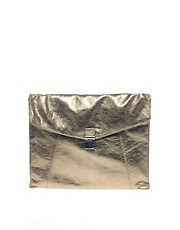 ASOS Leather Envelope Clutch