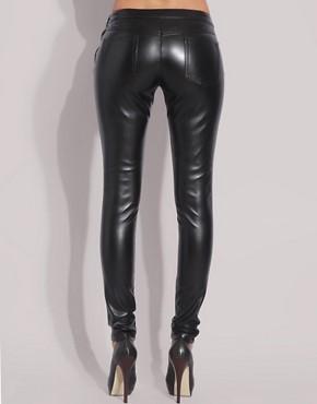 d6d07d0ac14 Jil Sander Image 2 of ASOS Faux Leather Leggings