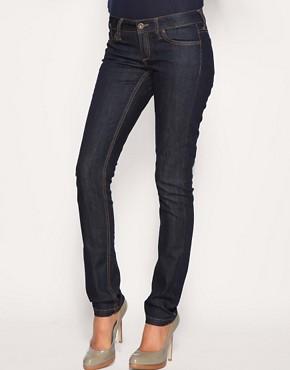 Image 1 ofMango Rinse Wash Skinny Jeans
