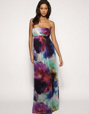 Image 1 ofASOS Rainbow Maxi Dress