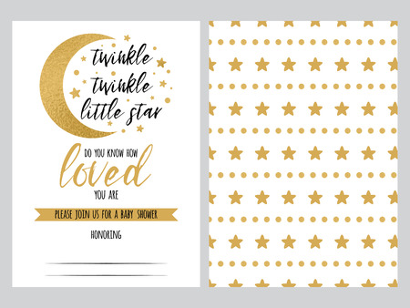 baby shower invitation template twinkle