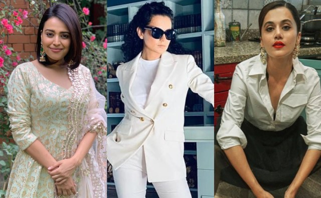 Swara Bhasker says 'very well said' Taapsee Pannu as the latter ...