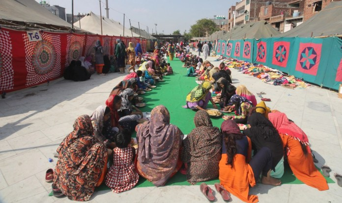 File photo of Mustafabad relief camp (Photo Courtesy: social media)