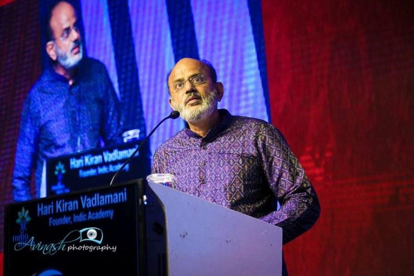 Hari Kiran Vadlamani, Founder, Indic Academy