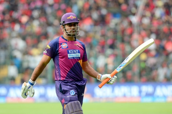 MS Dhoni played for Rising Pune Supergiants for the two seasons when Chennai Super Kings were suspended.