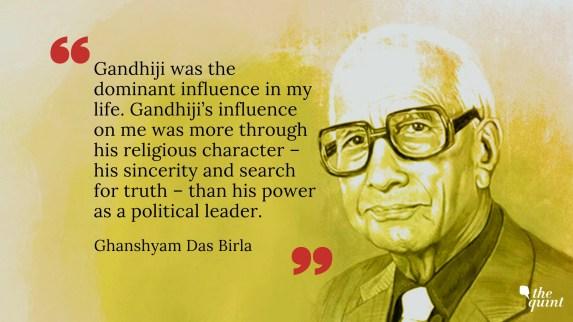thequint%2F2018 06%2F7c0f8e00 5ff4 424f 923c 616d1218244c%2FGD Birla Mahatma Gandhi  Death Anniversary 2 - मेरा कर्त्तव्य : घनश्यामदास जी बिड़ला का प्रेरक प्रसंग | Ghanshyamdas Birla Prerak Prasang