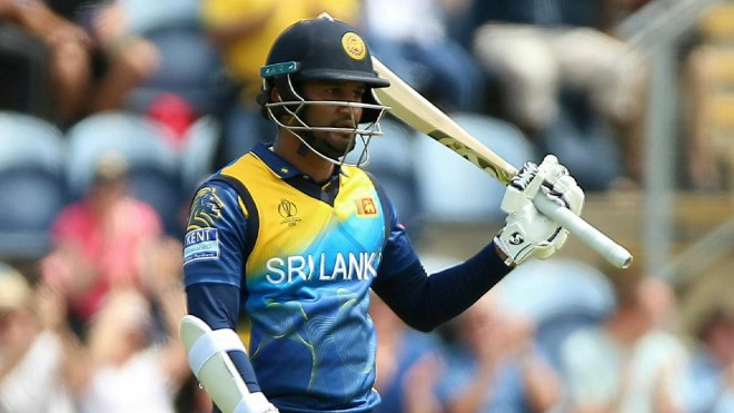 Sri Lanka skipper Dimuth Karunaratne registered his third ODI fifty in 81 balls.