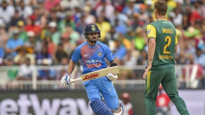 India enjoy a success percentage of 61.53 against South Africa in T20Is, winning eight and losing five.