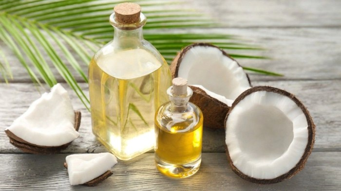 Coconut has strong anti-fungal properties.