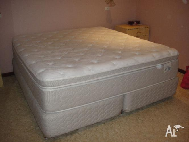 King Size Bed And Base