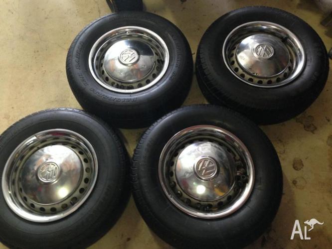 Wheels Tyres Hub Caps And Dress Rims Vw Kombi Bus Bay