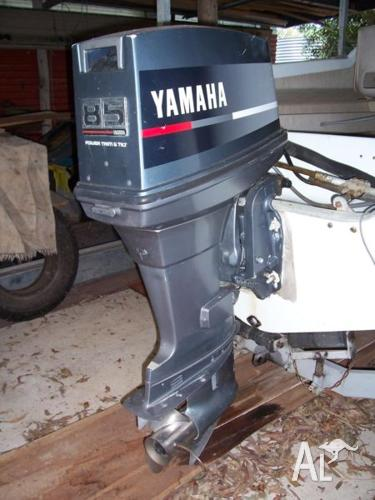 Yamaha 85hp Outboard Motor Ss Prop For