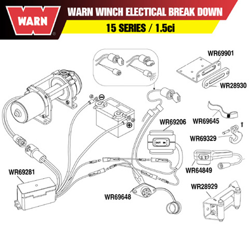 Warn A2000 Atv Winch Wiring Diagram: Warn A2000 Atv Winch Wiring Diagram At Imakadima.org