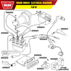 A2500 Warn Winch Parts Diagram  Wiring Diagram Pictures