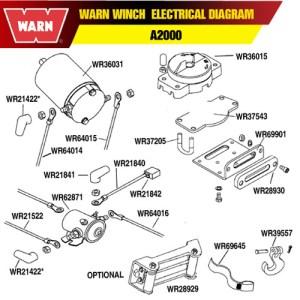 WARN WINCH MOTOR FOR A2000 A2500 25 CI   eBay