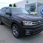 2019 Volkswagen Atlas Sel R Line 4motion In Deep Black Pearl 568333 Auto Jager German Cars For Sale In The Us