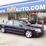 2007 Audi A8 L 4 2 Quattro In Night Blue Pearl Effect 011858 Auto Jager German Cars For Sale In The Us