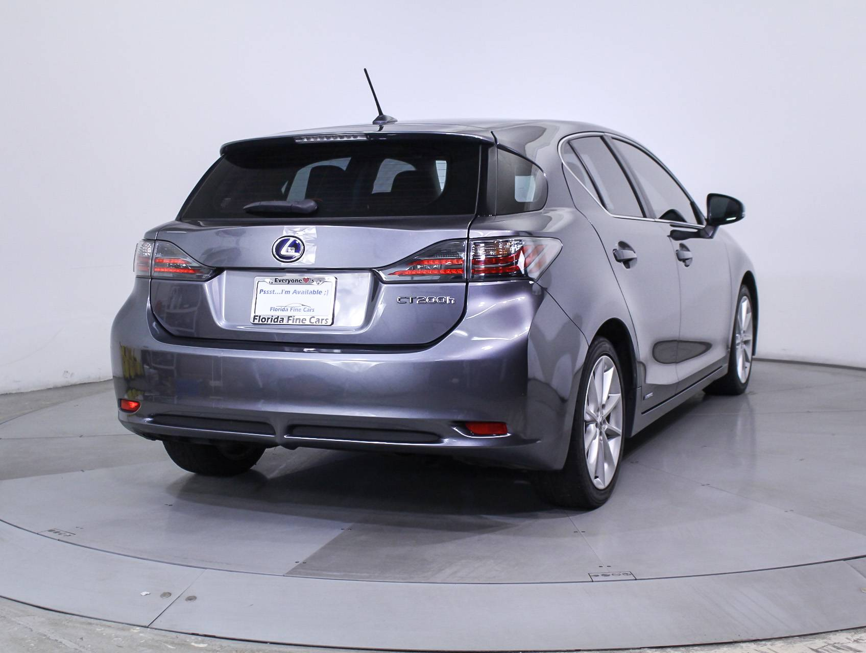 Used 2013 LEXUS CT 200H Hatchback for sale in HOLLYWOOD FL