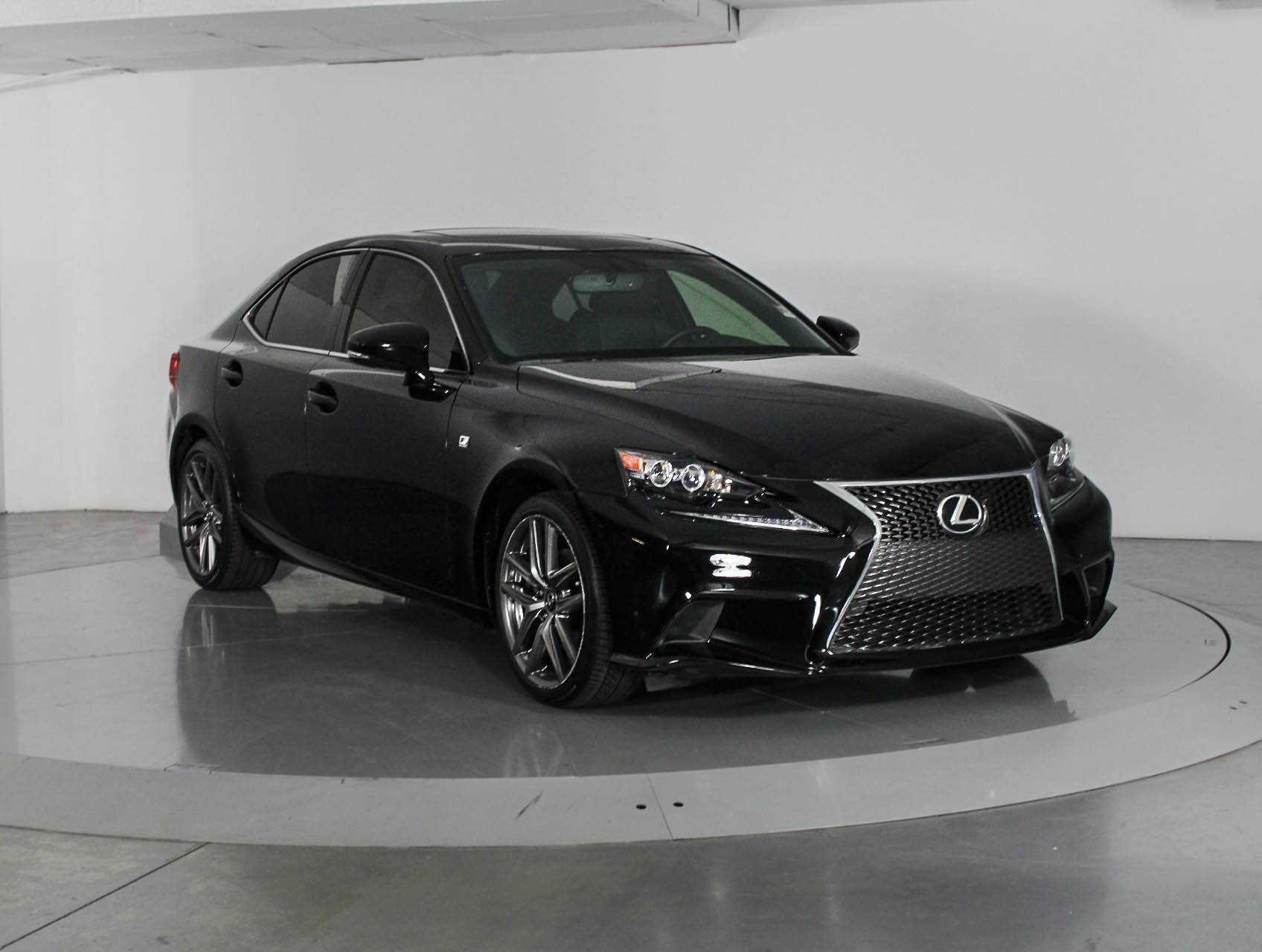 Used 2014 LEXUS IS 250 F Sport Sedan for sale in WEST PALM FL