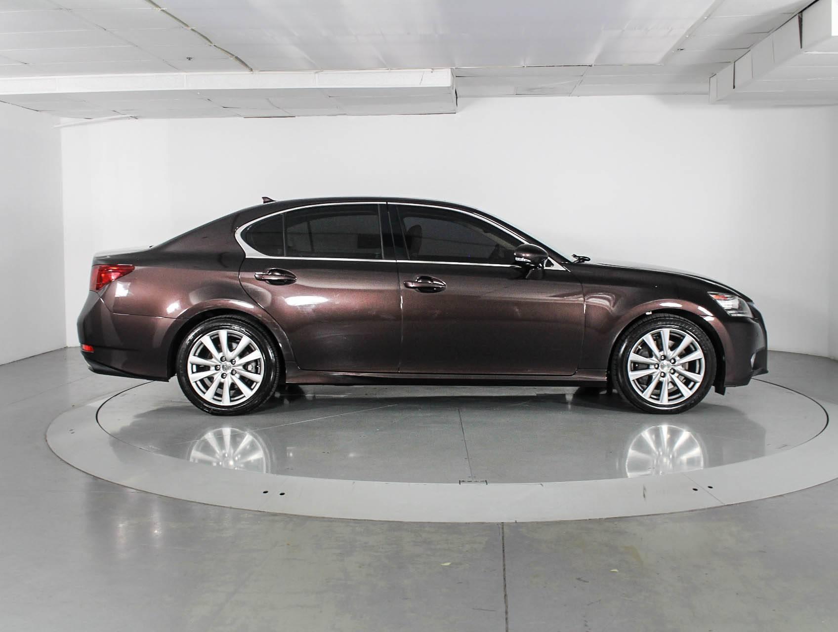 Used 2013 LEXUS GS 350 Sedan for sale in WEST PALM FL